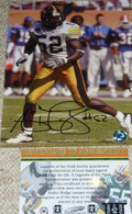 Abdul Hodge Autographed 52 Signed Iowa Hawkeyes 8x10 PHOTO Hitman COA HOLOGRAM
