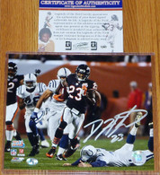 Chicago Bears Devin Hester Autographed 23 Signed 8x10 SUPER BOWL TD PHOTO COA SB