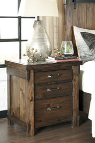 Lakeleigh Brown Three Drawer Night Stand