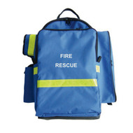 Oxygen Bag with Trauma Pack - Rescuer brand.
