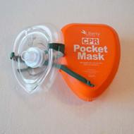 Mask Pocket  CPR Resuscitator - Liberty brand.