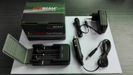 Acebeam A2 Advanced Li-18650  2 Cell Charger, 240V (AB-A2)