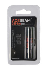 Acebeam ARC18650NP-260A Lithium Ion rechargeable battery -  4 Pack