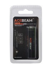 Acebeam ARC18650NP-340A Panasonic cell PCB Protected High Drain Li Ion rechargeable battery