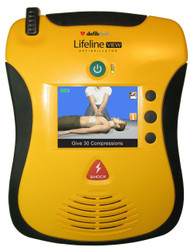 Defibtech Lifeline View AED with LCD screen  External Defibrillator, 8 yr warranty