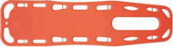 Rescuer Backboard with pins-45 x 184 x 5cm orange