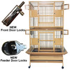 """2 Stackable Bird Cages 36"""" x 28"""" x 67"""""""