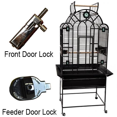 "Luxury Bird Cage 28"" x 22"" x 66"""