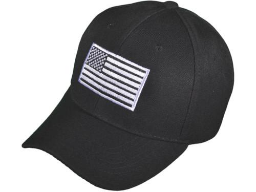 patriotic baseball caps wholesale hats flag black usa