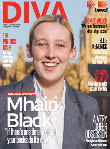 """As the UK prepares to go the polls in June, our timely front cover is Mhairi Black. The 22-year-old SNP MP has won legions of fans from across the political spectrum since being elected in 2015 thanks to her principled stance on issues affecting the most vulnerable in our communities. In an exclusive interview with publisher Linda Riley, Black talks about her biggest challenges in parliament so far, and why she doesn't want to be Nicola Sturgeon.   Also in this issue…  Rose and Rosie: Exposed  Sleeping with the enemy: Can a relationship survive political differences?   Denise Welch: """"We need to come out about depression""""  Game Of Thrones star Ellie Kendrick talks to Roxy Bourdillon about her new film   A woman's place is in the House: Carrie Lyell on women in parliament and the progress over the last 100 years  Why are so many straight authors writing about same-sex love?  Church for atheists: Vicky Beeching experiences a """"godless church"""" for the first time  """"It's not just banter"""": Tackling homophobia in football  Our family and autism  PLUS: Travel, art, community and more!"""
