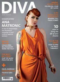 DIVA Magazine January 2013