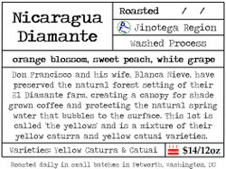 Nicaragua Diamante Yellows