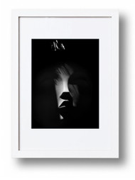 "Art Print, ""Shades of Black"", Natalie Burlutskaya. Shade #9"