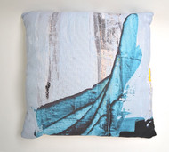 "Decorative Pillow, ""Abstract Blue"""