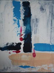 "Painting, ""Abstract Navy"", KUBI, 2014"
