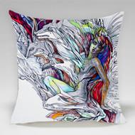 "Decorative Pillow, ""Fairy"", Kate Goltseva"