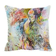 "Decorative Pillow, ""Secret Orchard"", Kate Goltseva"