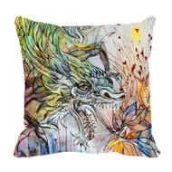 "Decorative Pillow, ""Macro"", Kate Goltseva"