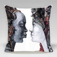 "Decorative Pillow, "" Two"", Kate Goltseva"