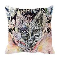 "Decorative Pillow, ""Animal Instinct"", Kate Goltseva"