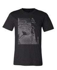 "Art T-Shirt,  ""Leonardo"", black and white"