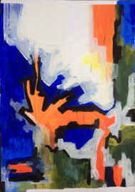 "Painting, ""Gaudi #1"", KUBI, 2014"