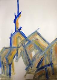 "Painting, ""Gaudi #2"", KUBI, 2014"
