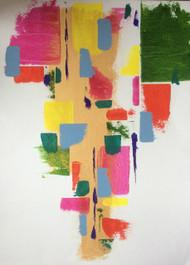 "Painting, ""Bright Spark"", KUBI, 2013"