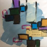 """Painting, """"Vintage Dreams #3"""", KUBI, 2014"""