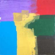 """Painting, """"Polaroid"""", KUBI, 2014"""