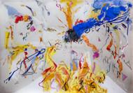 "Painting, ""Hi Manuela"", Juanito Conte, 2014"