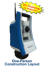 Spectra Precision Focus 35 RX Robotic Total Station Package