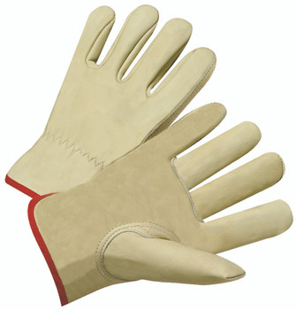4000 Series Cowhide Leather Driver Gloves (Medium): 4010M