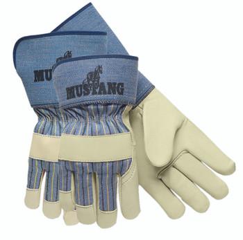 Grain Leather Palm Gloves (Medium): 1935M