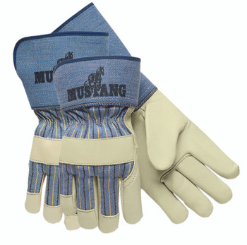 Grain Leather Palm Gloves (XL): 1935XL