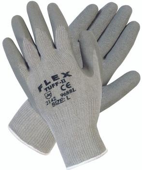 Flex Tuff-II Latex Coated Gloves (Large): 9688L