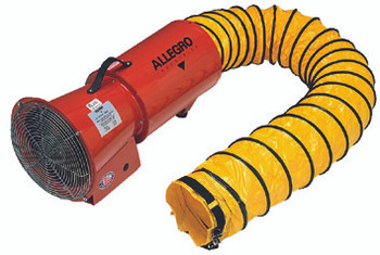 DC Axial Blowers w/Canister (8 in.): 9506-01