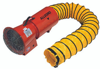 AC Axial Blowers w/Canister (25 ft.): 9514-25