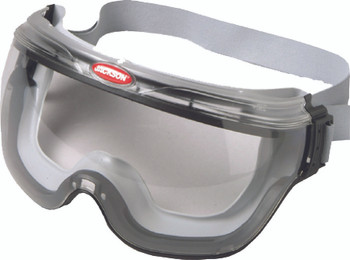 Jackson Safety Revolution Safety Goggles (Black with Clear Lens): 3009654