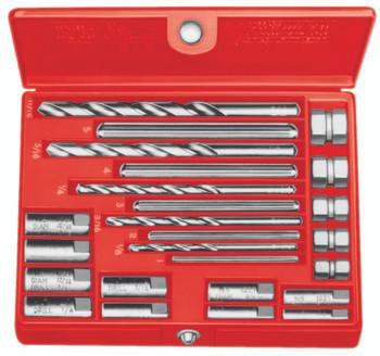 Screw Extractor Sets: 35585