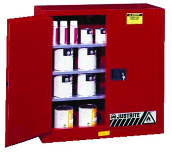 Justrite Safety Cabinets for Combustibles: 893 and 896