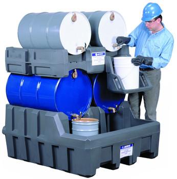 Justrite Gator Drum Management Systems: AK28902, AK28903, and AK28904