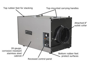 HEPA-AIRE® Portable Air Scrubber: PAS600
