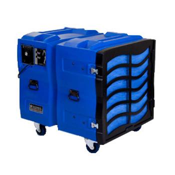 Abatement Technologies BULLDOG Roto-Molded Negative Air Machine: BD2KLV