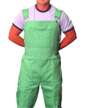 Anchor Cotton Sateen Bib Overalls: Choose Size