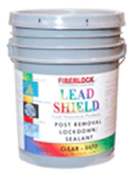 Lead Shield Post Removal Lockdown - Blue (Five Gallon): 5475