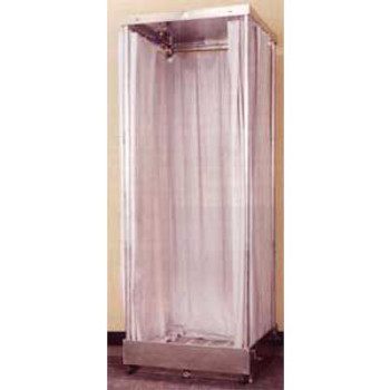 Fiberlock Collapsible Decontamination Shower: 6439