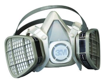 3M 5000 Series Half Facepiece Respirators: Choose Size