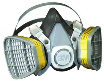3M 5000 Series Half Facepiece Respirators: Choose Size 1