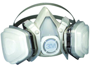 3M 5000 Series Half Facepiece Respirators: Choose Size 2